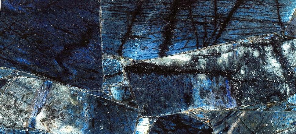 Blauer Stein